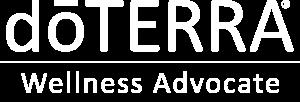 Herramientas y recursos doTERRA logo white Made of Yoga Nuria Durán